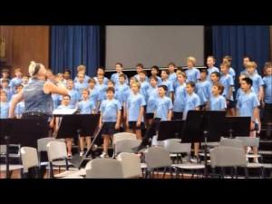 Boys Grammar School Brisbane sing 'Kakadu'